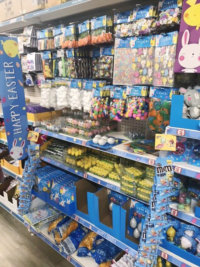 Poundland easter craft materials 2019